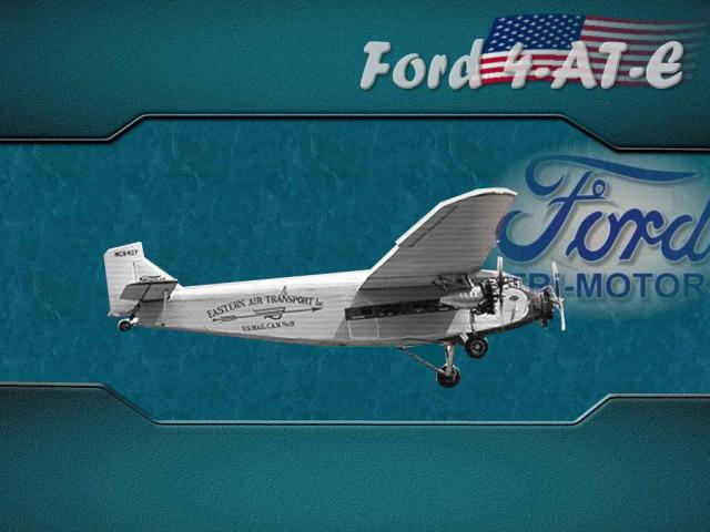 Ford 4-AT-E TRi-Motor